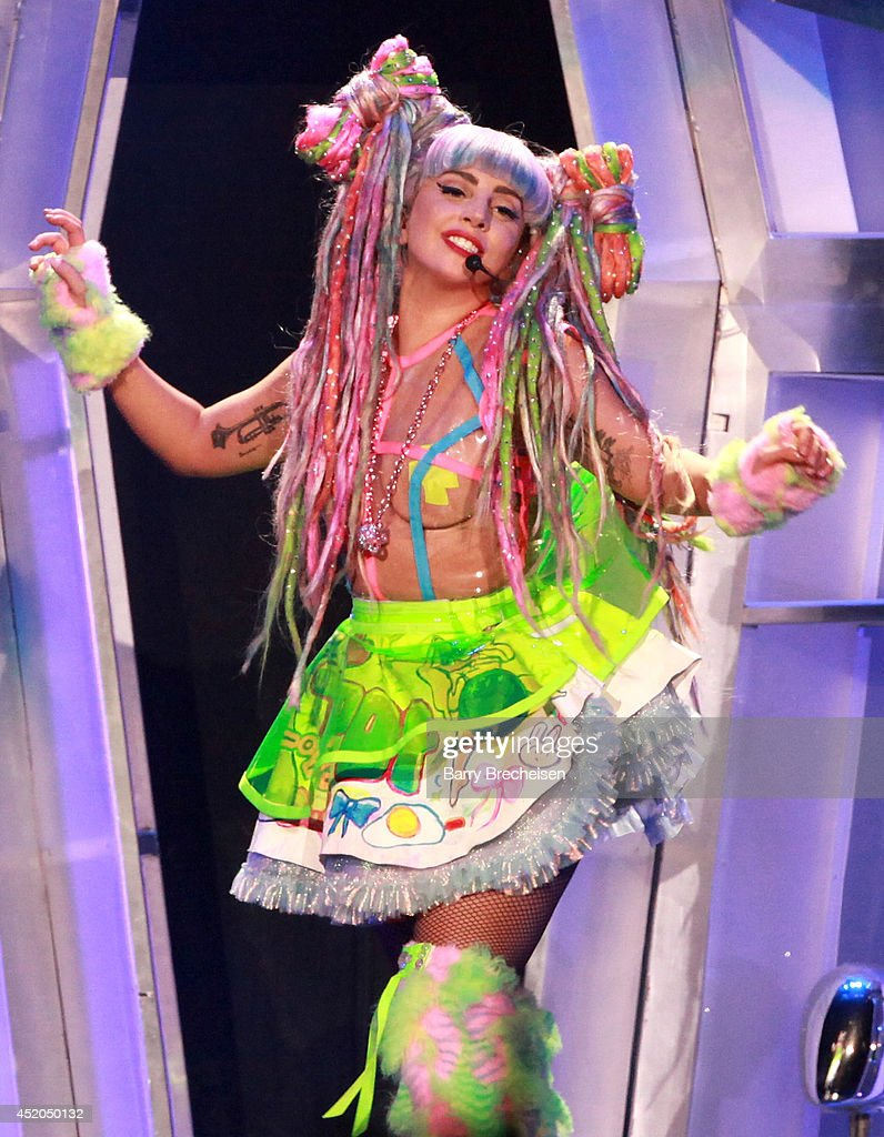 <a gi-track='captionPersonalityLinkClicked' href=/galleries/search?phrase=Lady+Gaga&family=editorial&specificpeople=4456754 ng-click='$event.stopPropagation()'>Lady Gaga</a> performs onstage during the 'artRave: The Artpop Ball' tour at the United Center on July 11, 2014 in Chicago, Illinois.