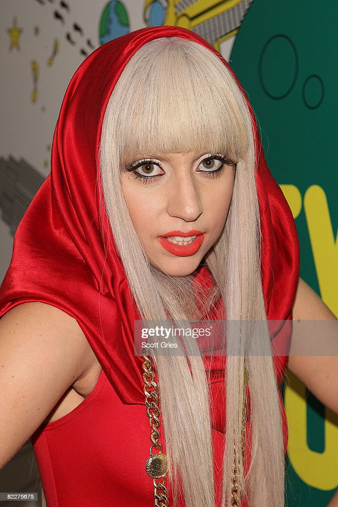 <a gi-track='captionPersonalityLinkClicked' href=/galleries/search?phrase=Lady+Gaga&family=editorial&specificpeople=4456754 ng-click='$event.stopPropagation()'>Lady Gaga</a> poses backstage during MTV's Total Request Live at the MTV Times Square Studios August 12, 2008 in New York City.