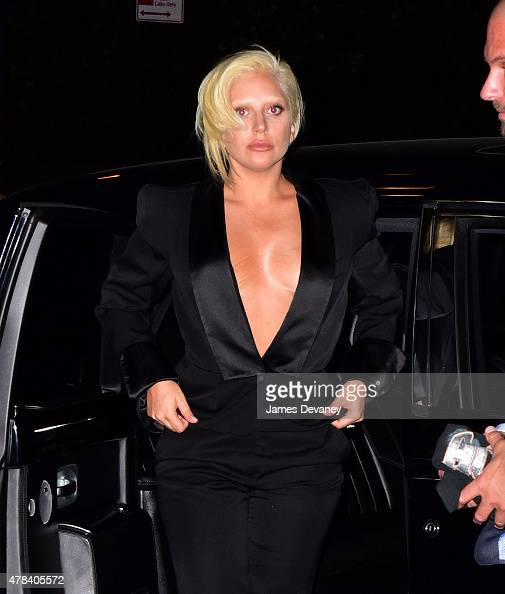 Lady Gaga seen on the streets of Manhattan on June 24 2015 in New York City