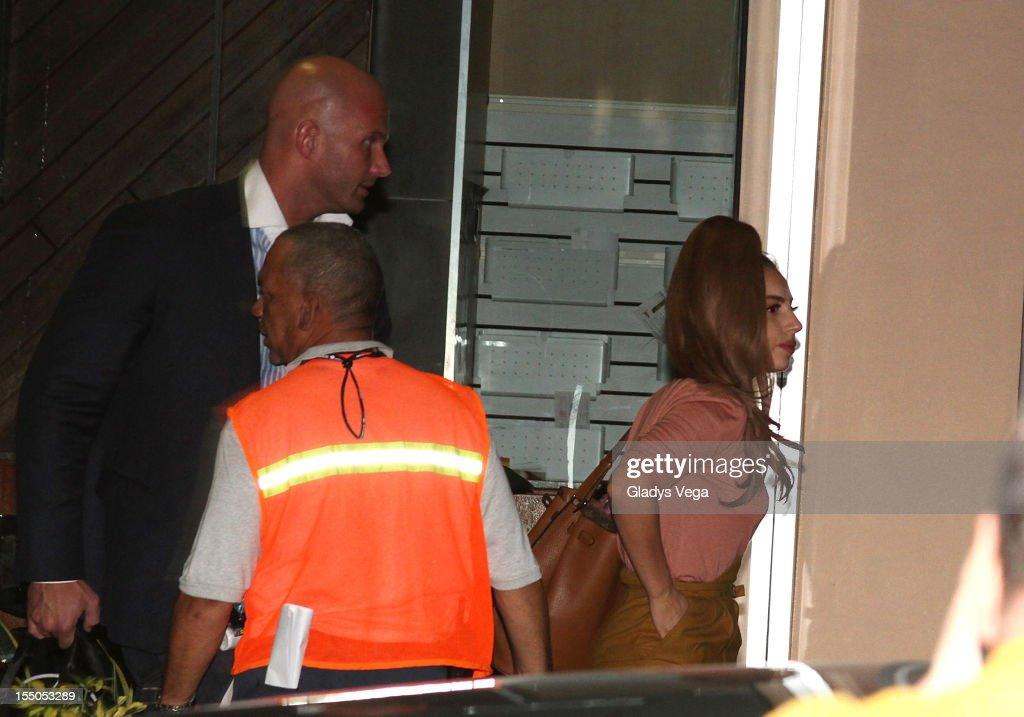 <a gi-track='captionPersonalityLinkClicked' href=/galleries/search?phrase=Lady+Gaga&family=editorial&specificpeople=4456754 ng-click='$event.stopPropagation()'>Lady Gaga</a> sighted arriving at Luis Munoz Marin International Airport on October 30, 2012 in San Juan, Puerto Rico.