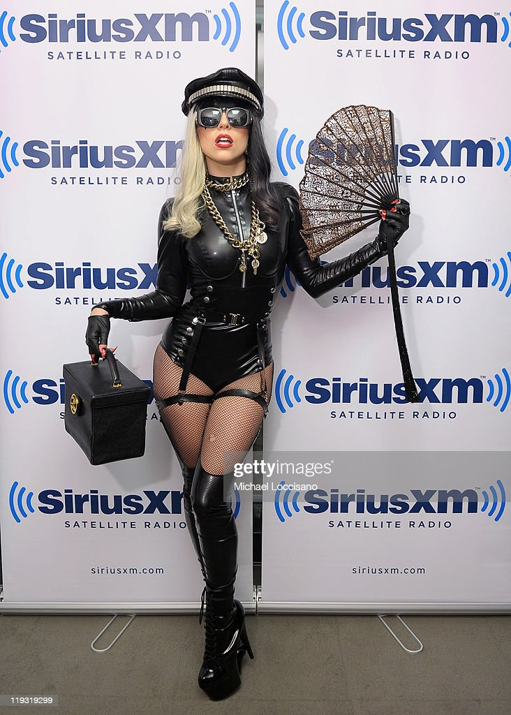 <a gi-track='captionPersonalityLinkClicked' href=/galleries/search?phrase=Lady+Gaga&family=editorial&specificpeople=4456754 ng-click='$event.stopPropagation()'>Lady Gaga</a> visits 'The Howard Stern Show' on SiriusXM Hits 1 at SiriusXM Studio on July 18, 2011 in New York City.