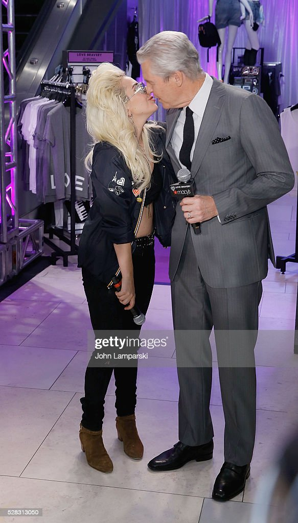 <a gi-track='captionPersonalityLinkClicked' href=/galleries/search?phrase=Lady+Gaga&family=editorial&specificpeople=4456754 ng-click='$event.stopPropagation()'>Lady Gaga</a>and Macys Chairman Terry Lundgren launch Love Bravery Collection at Macy's Herald Square at Macy's Herald Square on May 4, 2016 in New York City.