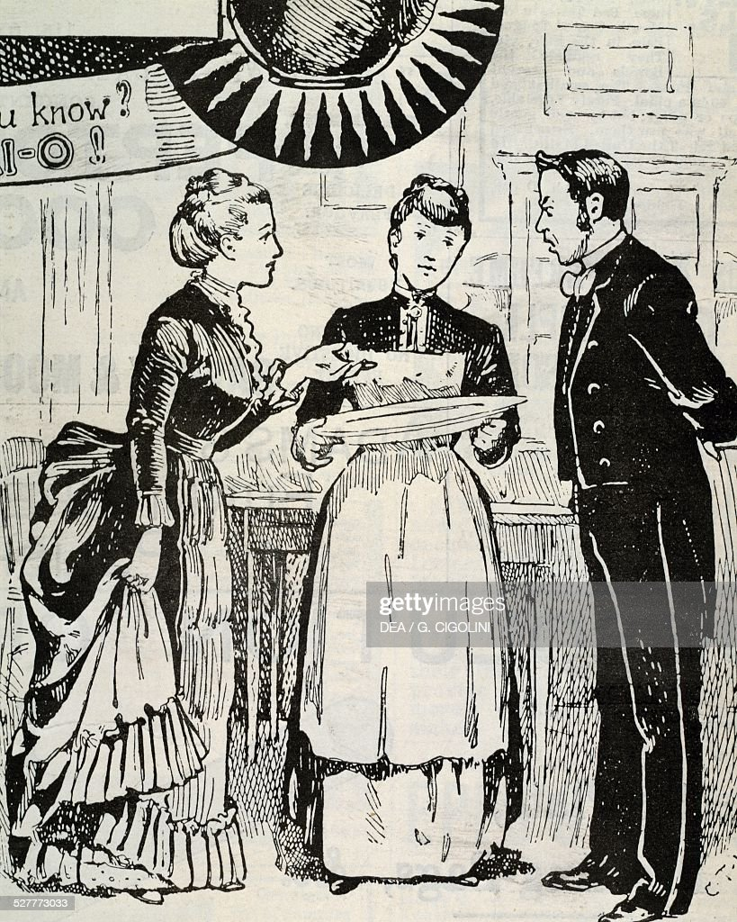 lady gives orders to the servants pictures getty images lady gives orders to the servants advertisement sapolio house cleaning soap 1890 from