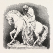 Lady Godiva By J Thomas In The Exhibition Of The Royal Academy