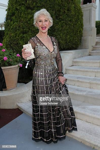 Lady Helen Mirren attends the amfAR 's 23rd Cinema Against AIDS Gala at Hotel du CapEdenRoc on May 19 2016 in Cap d'Antibes France