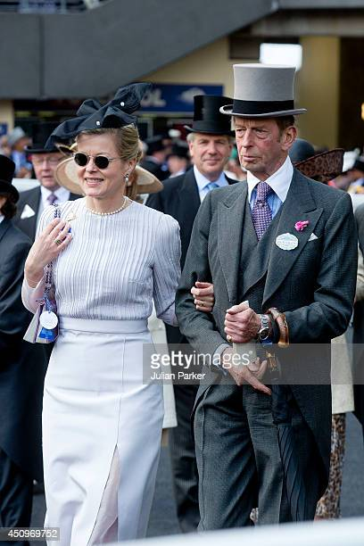 Lady Helen Taylor and her father The Duke of Kent attend Day 4 of Royal Ascot at Ascot Racecourse on June 20 2014 in Ascot England