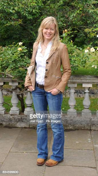 Lady Helen Taylor arrives at the Ralph Lauren Wimbledon Garden Party at Froebel House Roehampton Lane in south west London