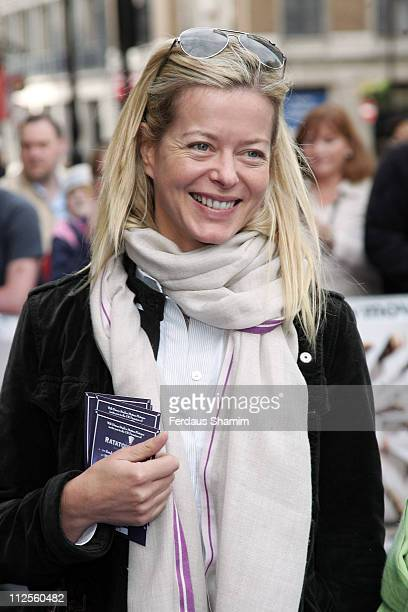 Lady Helen Taylor arrives at the UK film premiere of 'Ratatouille' at the Odeon Leicester Square on September 30 2007 in London England