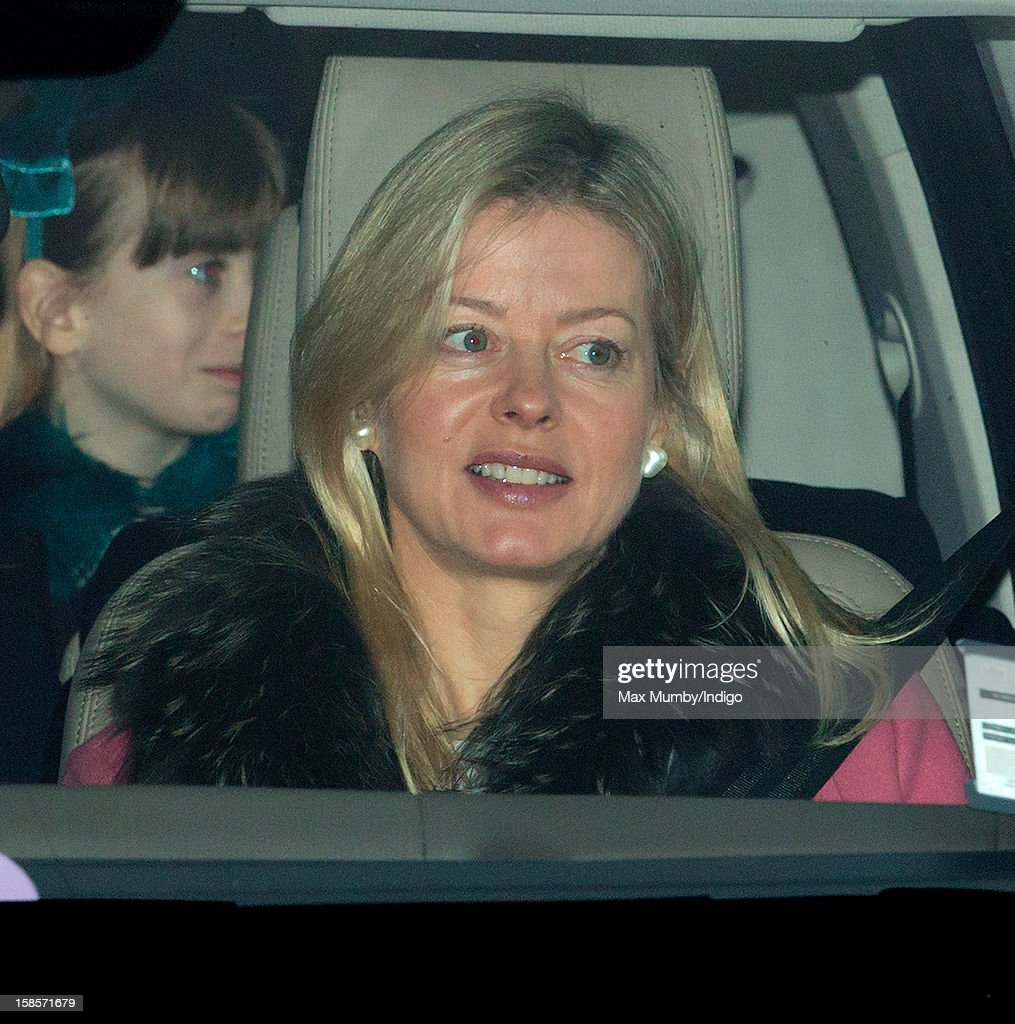 Lady Helen Taylor attends a Christmas lunch for members of the Royal Family hosted by Queen Elizabeth II at Buckingham Palace on December 19, 2012 in London, England.