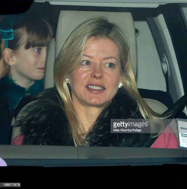 Lady Helen Taylor attends a Christmas lunch for members of the Royal Family hosted by Queen Elizabeth II at Buckingham Palace on December 19 2012 in...