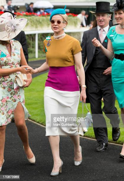 Lady Helen Taylor attends Day 2 of Royal Ascot at Ascot Racecourse on June 19 2013 in Ascot England