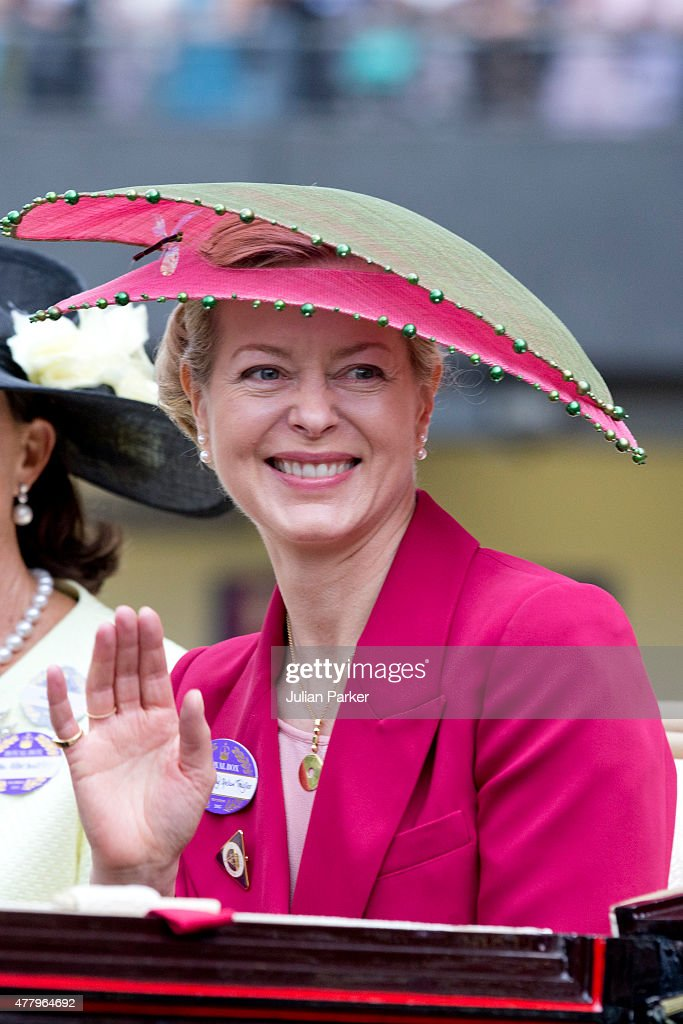 ASCOT, ENGLAND- JUNE 20 Lady Helen Taylor, attends the last day of The Royal Ascot race meeting, on June 20th, 2015 in Ascot, England.