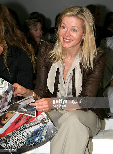Lady Helen Taylor during London Fashion Week Spring/Summer 2007 Allegra Hicks Runway and Backstage at On/Off Royal Horticultural Hall in London Great...