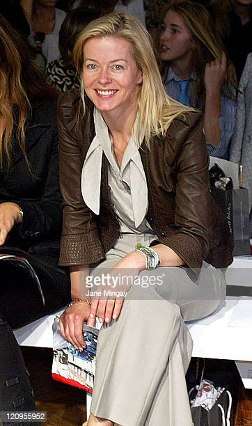 Lady Helen Taylor during London Fashion Week Spring/Summer 2007 Allegra Hicks Runway and Backstage in London Great Britain