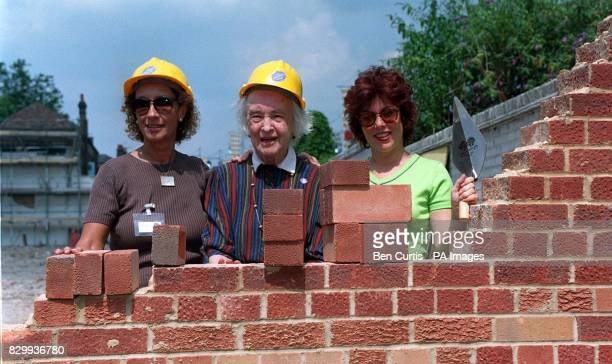 Lady Hollick Dame Josephine Barnes and TV star Ruby Wax lay the first bricks in a new 40bed hostel in Shepherd Bush west London aimed at improving...