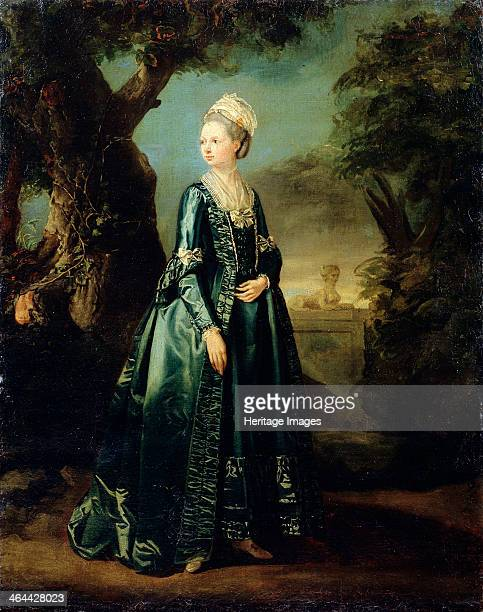 'Lady in a Garden' c1773c1776 The fifth child of Ludwig IX Landgrave of HesseDarmstadt and Caroline of Zweibrücken Natalia Alexeievna of Russia was...