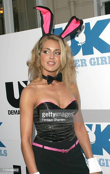 Lady Isabella Hervey during Playboy UK 2005 Summer Party at No 5 in London Great Britain