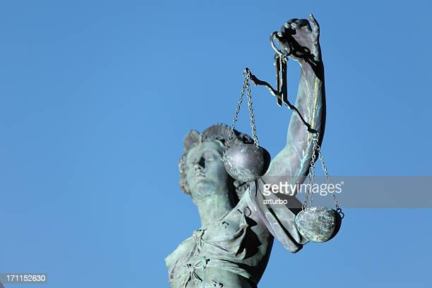 Lady Justice and scale