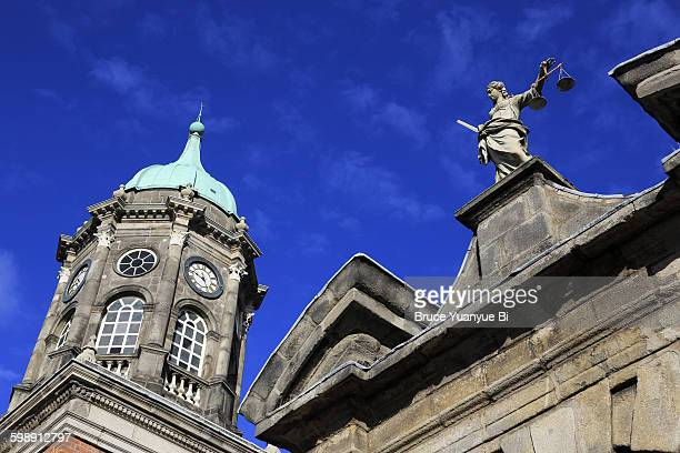 Lady Justice with Bedford Tower