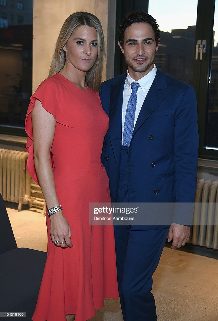 Lady <a gi-track='captionPersonalityLinkClicked' href=/galleries/search?phrase=Kinvara+Balfour&family=editorial&specificpeople=4203825 ng-click='$event.stopPropagation()'>Kinvara Balfour</a> and designer <a gi-track='captionPersonalityLinkClicked' href=/galleries/search?phrase=Zac+Posen+-+Fashion+Designer&family=editorial&specificpeople=4442066 ng-click='$event.stopPropagation()'>Zac Posen</a> attend AOL's Build Speaker Series Presents: <a gi-track='captionPersonalityLinkClicked' href=/galleries/search?phrase=Zac+Posen+-+Fashion+Designer&family=editorial&specificpeople=4442066 ng-click='$event.stopPropagation()'>Zac Posen</a> at AOL Studios In New York on September 2, 2014 in New York City.