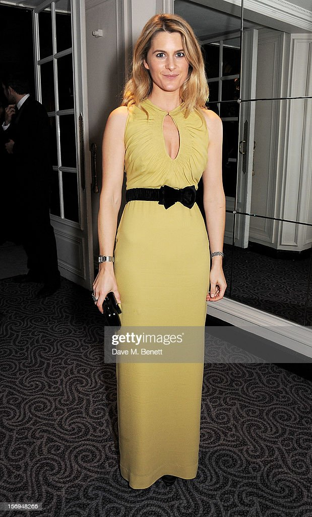 Lady Kinvara Balfour attends an after party following the 58th London Evening Standard Theatre Awards in association with Burberry at The Savoy Hotel on November 25, 2012 in London, England.