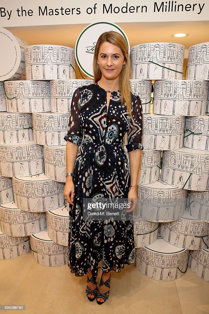 Lady Kinvara Balfour attends 'Decades of Drama' celebrating 125 years of Fenwicks of Bond Street on May 25 2016 in London England