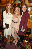 Lady Kitty Spencer Alice NaylorLeyland and Amber Atherton attend a VIP dinner celebrating the launch of Mrs Alice for French Sole at Annabel's on...