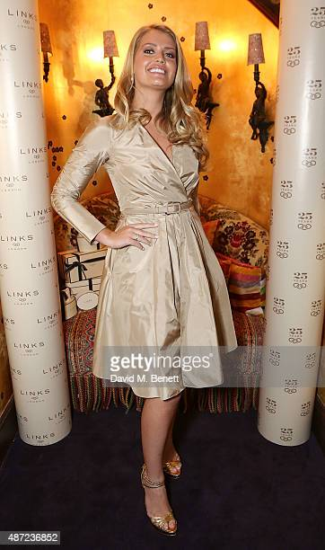 Lady Kitty Spencer attends the Links of London 25th Anniversary party at Loulou's on September 7 2015 in London England