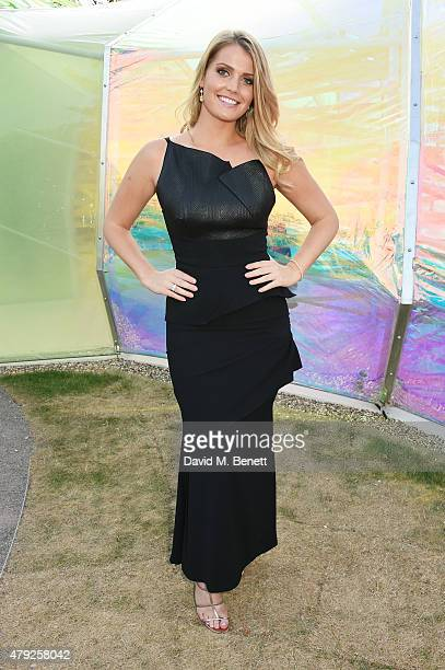 Lady Kitty Spencer attends The Serpentine Gallery summer party at The Serpentine Gallery on July 2 2015 in London England