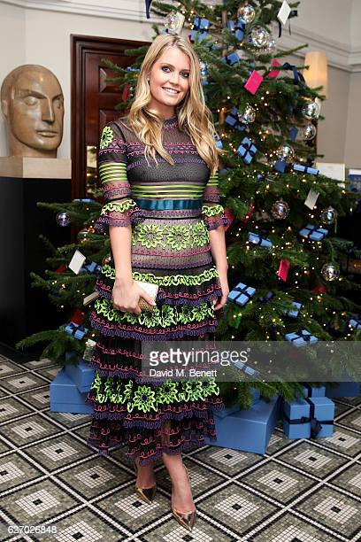 Lady Kitty Spencer attends the Smythson x Brown's Hotel festive launch party at Brown's Hotel on December 1 2016 in London United Kingdom