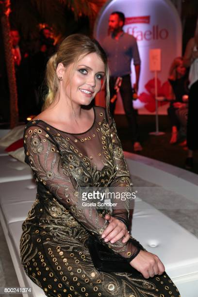 Lady Kitty Spencer niece of Lady Di daughter of Charles Spencer during the Raffaello Summer Day 2017 to celebrate the 27th anniversary of Raffaello...