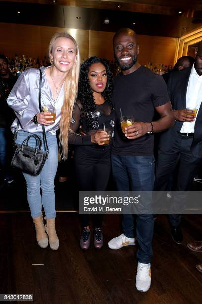 Lady Leshurr and Ortis Deley attend the Destiny 2 launch event on PlayStation 4 Available from Wednesday 6th September 2017 #Destiny2 at Mondrian...