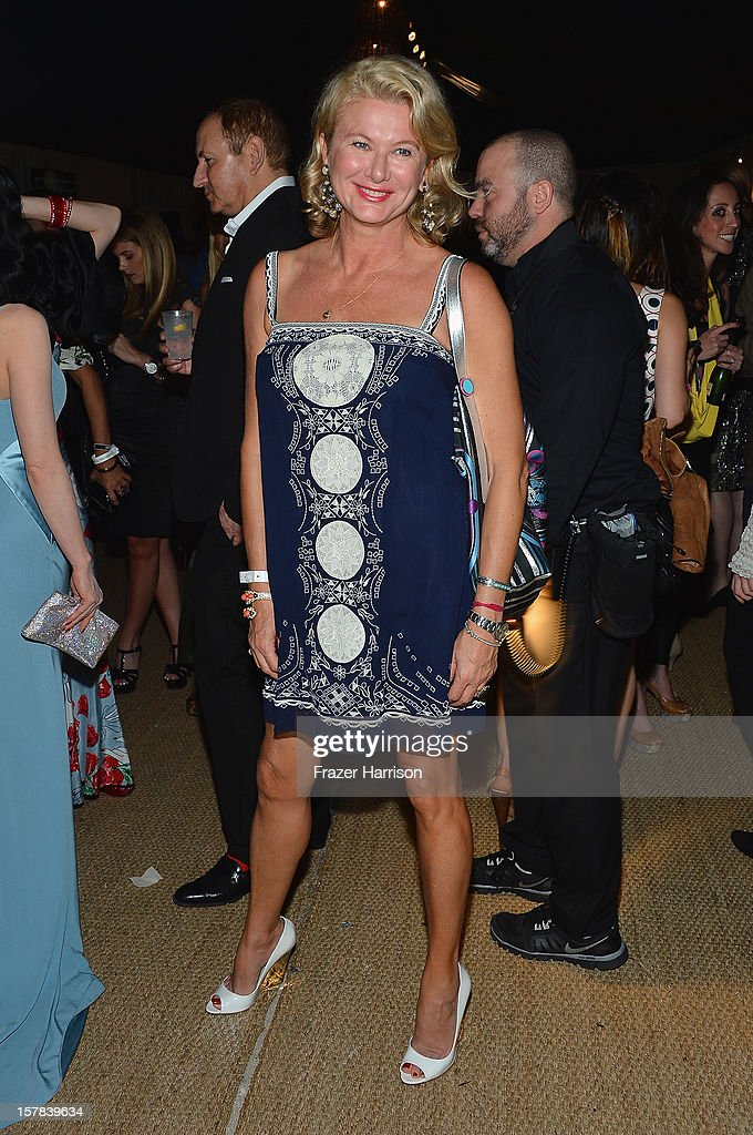 Lady Liliana Cavendish attends the amfAR Inspiration Miami Beach Party on December 6, 2012 in Miami Beach, United States.
