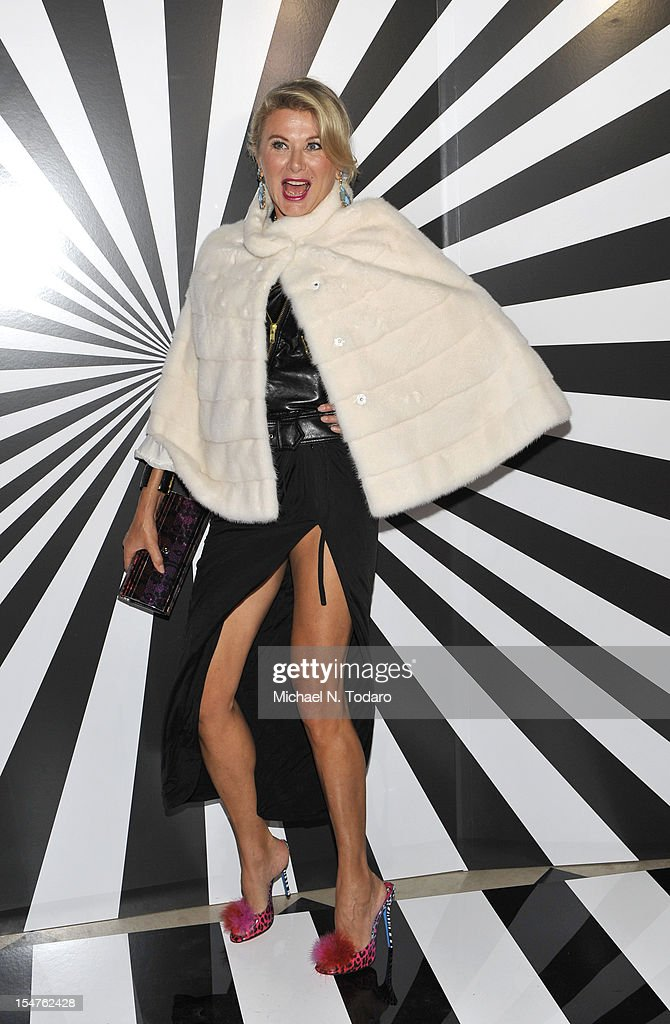 Lady Liliana Cavendish attends the celebration of the collaboration between Jimmy Choo and Artist Rob Pruitt at The Fletcher Sinclair Mansion on October 25, 2012 in New York City.
