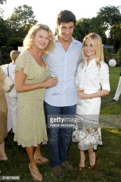 Lady Liliana Cavendish JeanChristophe Napoleon and Amanda Hearst attend Louis Vuitton with Anne Hearst McInerney and Jay McInerney in the presence of...