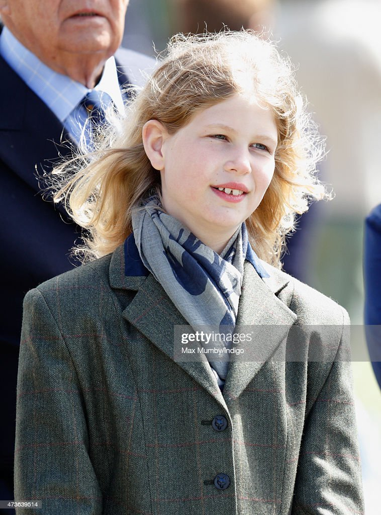Lady Louise Windsor attends day 4 of the Royal Windsor Horse Show in Home Park on May 16 2015 in Windsor England