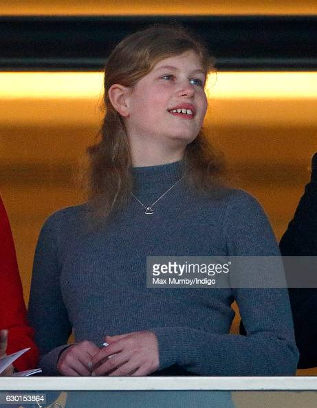 lady-louise-windsor-watches-the-racing-as-she-attends-the-christmas-picture-id630153864