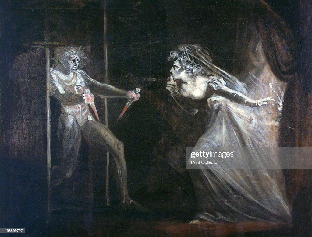 'Lady Macbeth Seizing the Daggers' exhibited 1812 Found in the collection of the Tate London