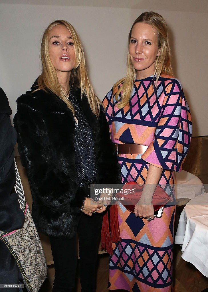 Lady <a gi-track='captionPersonalityLinkClicked' href=/galleries/search?phrase=Mary+Charteris&family=editorial&specificpeople=4361110 ng-click='$event.stopPropagation()'>Mary Charteris</a> and <a gi-track='captionPersonalityLinkClicked' href=/galleries/search?phrase=Alice+Naylor+Leyland&family=editorial&specificpeople=8689010 ng-click='$event.stopPropagation()'>Alice Naylor Leyland</a> attend the launch of Italian restaurant and menswear boutique Chucs on Westbourne Grove on February 10, 2016 in London, England.