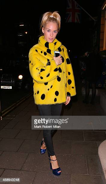 Lady Mary Charteris at The Ritz Hotel on November 13 2014 in London England