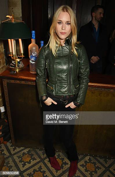 Lady Mary Charteris attends Harvey Weinstein's preBAFTA dinner in partnership with Burberry and GREY GOOSE at Little House Mayfair on February 12...