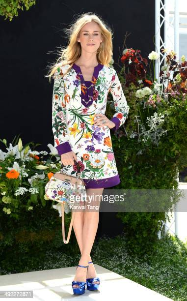 Lady Mary Charteris attends the VIP preview day of The Chelsea Flower Show held at the Royal Hospital Chelsea on May 19 2014 in London England