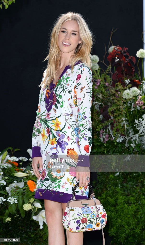 Lady Mary Charteris attends the VIP preview day of The Chelsea Flower Show held at the Royal Hospital Chelsea on May 19, 2014 in London, England.