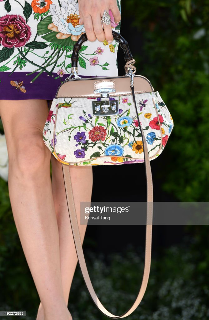 Lady Mary Charteris (Bag detail) attends the VIP preview day of The Chelsea Flower Show held at the Royal Hospital Chelsea on May 19, 2014 in London, England.