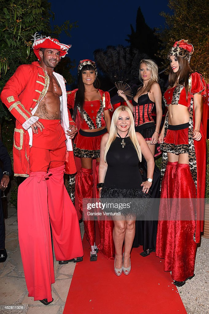 Lady Monika Bacardi Of AMBI Pictures attends Monika Bacardi Summer Party 2014 St Tropez at Les Moulins de Ramatuelle on July 27, 2014 in Saint-Tropez, France.