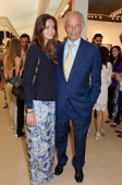 Lady Natasha Rufus Isaacs and Marquess of Reading Simon Rufus Isaacs attend the Art Antiques London Gala Evening in aid of Children In Crisis at...