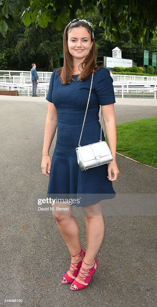 LAdy Natasha Rufus Isaacs attends the Sandown Park Racecourse Ladies' Day STYLE AWARD Hosted by Rosie Fortescue at Sandown Park on July 1, 2016 in Esher, England.