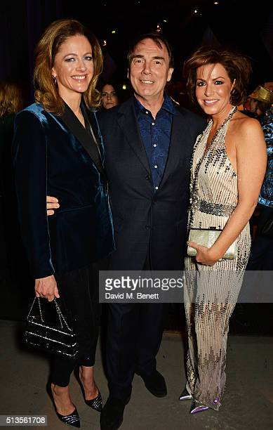 Lady Parker Lord Alan Parker and Natasha Kaplinsky attend 'A Night Of Motown' for Save The Children UK at The Roundhouse on March 3 2016 in London...