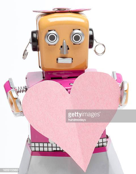 Lady Robot With A Big Heart