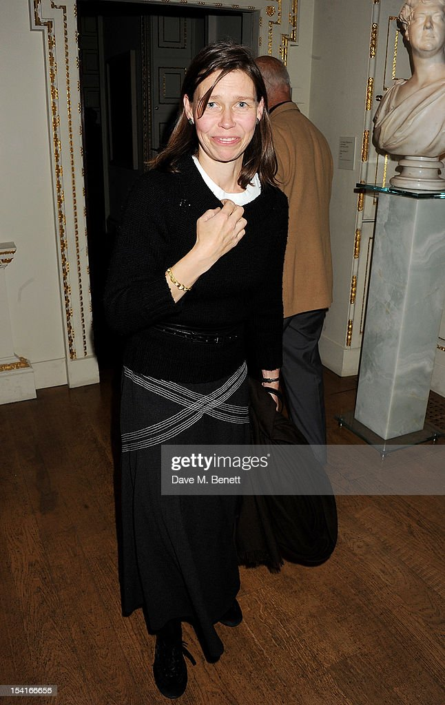 Lady Sarah Chatto attends as Charles Saumarez Smith, Chief Executive of the Royal Academy of Arts, launches his new book 'The Company Of Artists: The Origins Of The Royal Academy Of Arts In London' at The Royal Academy of Arts on October 15, 2012 in London, England.